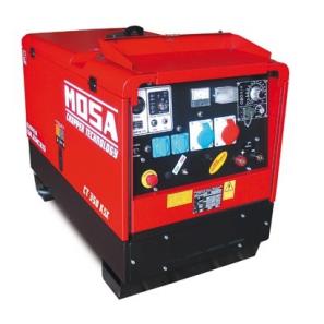 MOSA CS 350 KSX CC-CV Motosaldatrice MMA - TIG - STICK 10 kVA