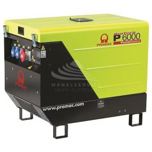 PRAMAC P6000 TRIFASE DPP, AVR