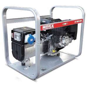 MOSA GE 7000 BBM - Portable and compact generator with single-phase power 5 KW