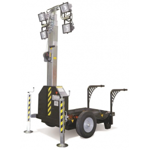 GENERAC MM6-DH Lighting Tower with 4 kVA Genset