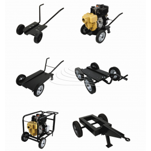 GMP - 2-wheels medium trolley with handles