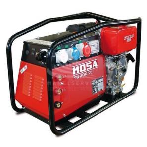 MOSA TS 200 DES/CF Motosaldatrice MMA ad Arco Avviamento Elettrico