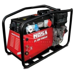 MOSA TS 200 KDES/EL Motosaldatrice MMA ad Arco Motore Kohler