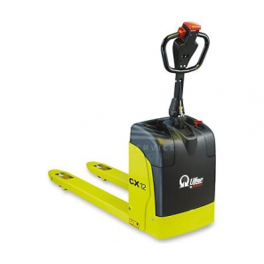 PRAMAC CX12 PLUS - Electric pallet trucks for smooth surfaces and lorries, with a load capacity up to 1200 Kg with PLUS battery