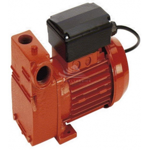 Self priming electric pumps domus for gas oil with volumetric impeller