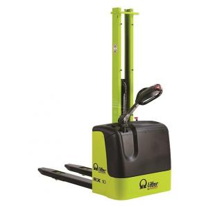 PRAMAC RX10/16 PLUS - Carrello elevatore elettrico con batterie plus e alzata libera di 1510 mm