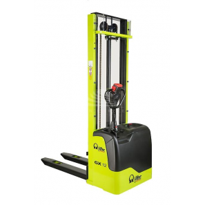 PRAMAC GX12/35 BASIC - Electric stacker BASIC version with a normal free lifting of 80 mm