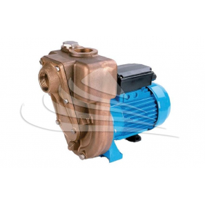 Pumps in marine bronze, monobloc execution with open impeller
