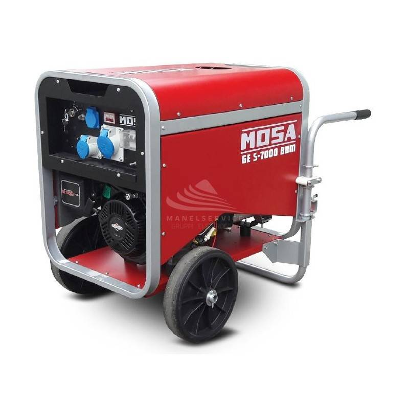 MOSA GE S-7000 BBM - Portable and covered generator with single-phase power 5 KW