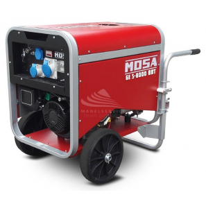 MOSA GE S-8000 BBT - Portable and covered generator with three-phase power 5.6 KW
