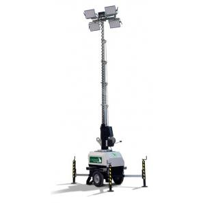 LUXTOWER LUX C10 Torre Faro LED 7 Metri Collegabile in serie