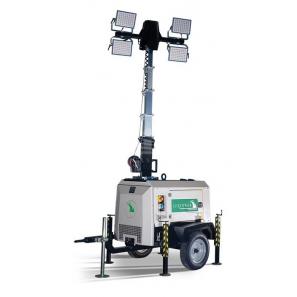 LUXTOWER LUX M10 Torre Faro LED 8.5 Metri con Generatore 3.5 kVA