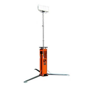 LUXTOWER LUX S10 Torre Faro LED 4.5 Metri Collegabile in Serie