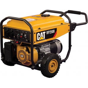 CAT CATERPILLAR RP2500 SINGLE PHASE GASOLINE 2.5 KW AVR