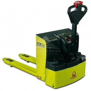 PRAMAC CX14 PLUS - Transpallet elettrico per pavimenti lisci e camion, con portata fino a 1400 Kg