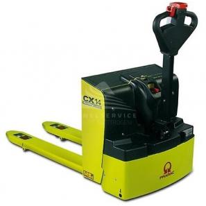 PRAMAC CX14 - Transpallet elettrico per pavimenti lisci e camion, con portata fino a 1400 Kg