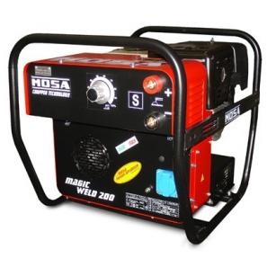MOSA MAGIC WELD 200 Motosaldatrice ad Arco MMA Versione con Prese SCHUKO
