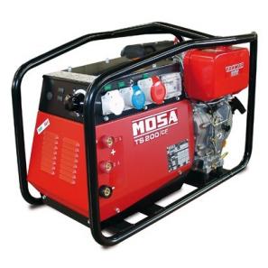 MOSA TS 200 DES/CF MMA Arc Welder With SHUCKO Plugs