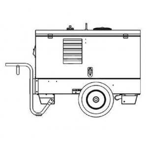MOSA CARRELLO TRAINO MANUALE - CS 350 KSX CC-CV