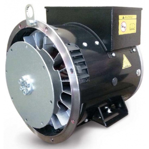 SINCRO SK160 LB SAE5 Single / Three Phase Synchronous AC Alternator 30 kVA AVR