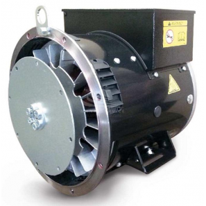 SINCRO SK160 LA2 SAE4 Single / Three Phase Synchronous AC Alternator 28 kVA AVR Supercompact