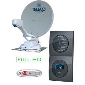 TELECO TELAIR Flatsat Skew Easy Smart 65 Antenna Satellitare Automatica 65 cm