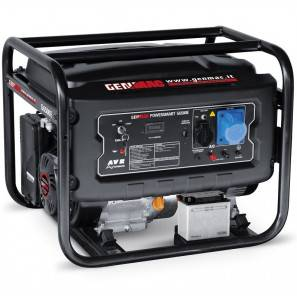 Genmac G6000E Generatore a Benzina 6000 Watt AVR Avviamento Elettrico