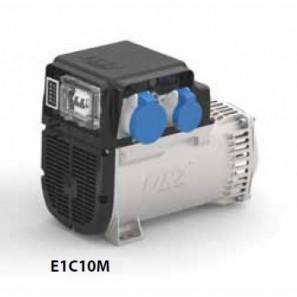 LINZ AEV Quadro Prese Superiore con Magnetotermico Differenziale Bipolare, Breaker e Voltmetro