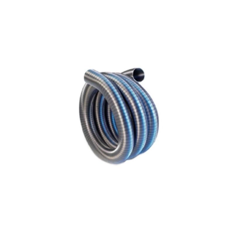 TUBO-MARMITTA FLESSIBILE INOX DOPPIA AGGRAFFATURA D. 125 mm