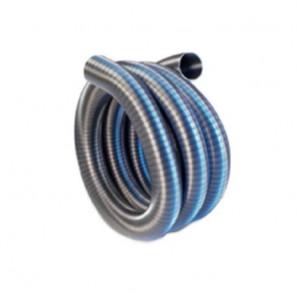 TUBO-MARMITTA FLESSIBILE INOX DOPPIA AGGRAFFATURA D. 150 mm