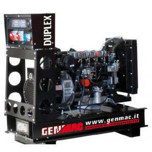 GENMAC DUPLEX G15YO Gruppo Elettrogeno 15 KVA 13 KW Aperto Automatico