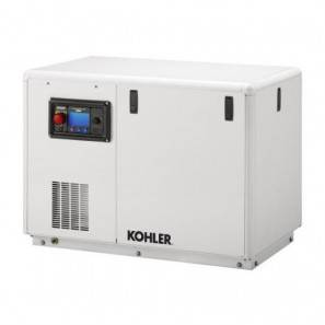 KOHLER 28 EFKOZD Single-phase 28 kVA Marine Generator Set