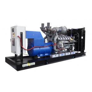 GREEN POWER GP1000A/P APERTO CON ALTERNATORE AVR-MECC ALTE (CENTRALINA MANUALE)