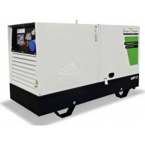 GREEN POWER GP44SH/K-N SILENZIATO CON ALTERNATORE COMPOUND-LINZ (CENTRALINA MANUALE)
