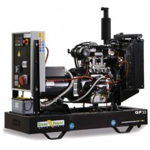 GREEN POWER GP110A/D APERTO CON ALTERNATORE AVR-LINZ (CENTRALINA MANUALE)