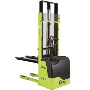 PRAMAC GX12/42 EVO AGM - Electric stacker EVO version with a normal free lifting of 80 mm