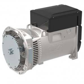LINZ E1S13M F/4 Three-phase alternator 4 poles 24 kVA 60 Hz Compound