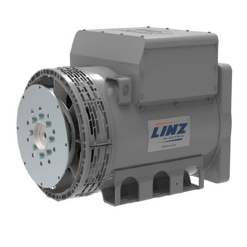 LINZ PRO22S A/4 Three-phase alternator 4 poles 63 kVA 50 Hz AVR