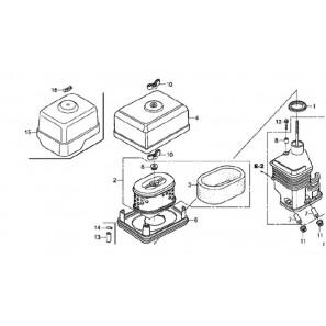 HONDA Air filter for GX200 UT2 Engine