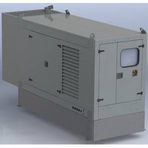 TESSARI SINGLE PHASE DIESEL GENERATOR 11 KVA 8.8 KW AUTOMATIC SWITCHBOARD