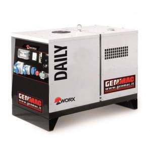 GENMAC Daily G11000KS Gruppo Elettrogeno Trifase 12.3 KVA 9.8 KW AVR