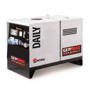 GENMAC Daily RG9000KS Generator 10.9 KVA 9.8 KW AVR