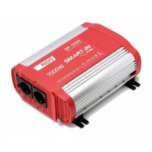 Inverter NDS SP1500 ad Onda Sinusoidale Pura 1500 W 24 V