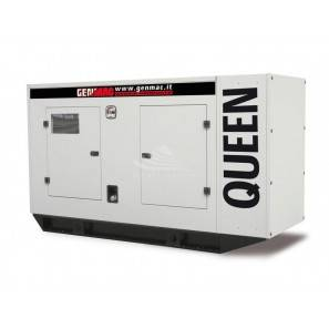 GENMAC QUEEN G100PS Generator Diesel 110 kVA Silenced AVR