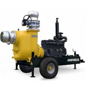 IDROFOGLIA MK50-150-SP SELF-PRIMING CENTRIFUGAL PUMP WITH ROAD TRAILER