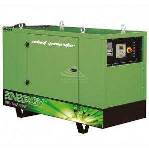 ENERGY EY-10P 10 KVA SUPER SILENCED WITH AUTOMATIC PANEL