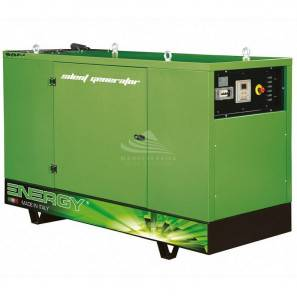 ENERGY EY-60F 60 KVA SUPER SILENCED WITH MANUAL PANEL