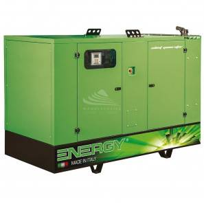 ENERGY EY-120F 120 KVA SUPER SILENCED WITH MANUAL PANEL