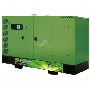 ENERGY EY-170F 170 KVA SUPER SILENCED WITH MANUAL PANEL