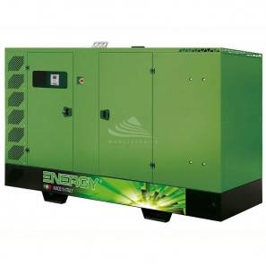 ENERGY EY-130VO 130 KVA SUPER SILENCED WITH MANUAL PANEL